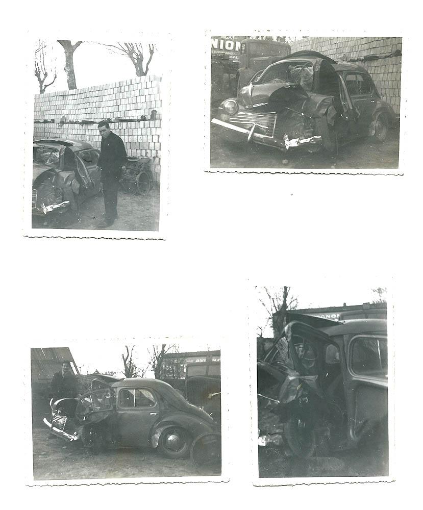 interessant lot de photos et negatifs d u0026 39 une auto