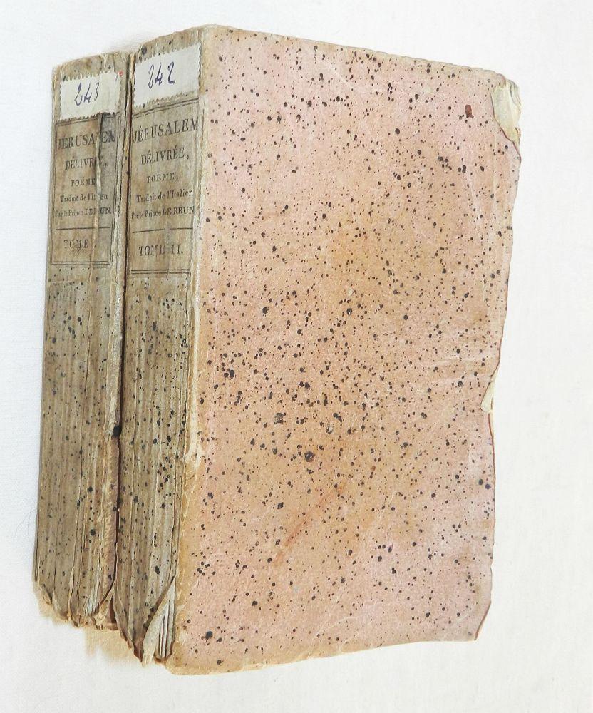 Détails Sur La Jerusalem Delivree Le Tasse Poeme Epique Vie De Lauteur 1810
